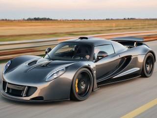 Hennessey Venom GT Gray